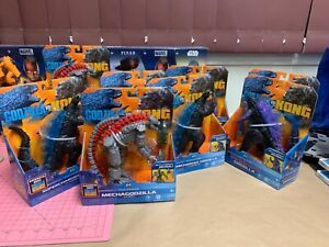 "Playmates Godzilla vs. Kong 6"" Figures"
