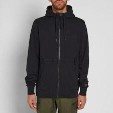Nike Sportswear Air Force 1 Full Zip Hoodie Black 925438-010 Men's Size M