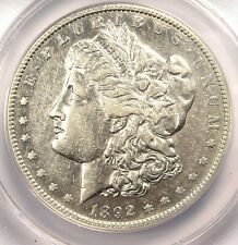 1892-S Morgan Silver Dollar $1 Coin - ANACS XF45 Details (EF45) - Rare Date!