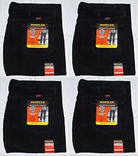31a11741 Rustler By Wrangler Men's Big & Tall Regular Fit Straight Leg Black Denim  Jeans