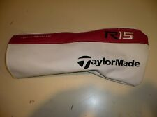 TaylorMade R15 Driver Headcover Head Cover VERY NICE!  Get it now while you can!
