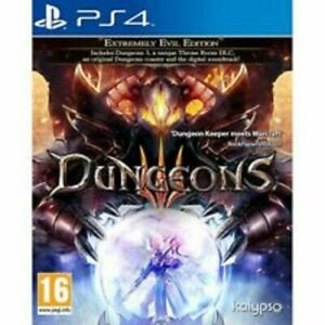 Dungeons III Extremely Evil Edition (PlayStation 4 PS4) Great Condition