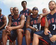 2008 USA OLYMPIC BASKETBALL (KOBE) 8X10 SPORTS PHOTO (XLT)