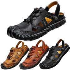 Sandalias de Hombre Conducción Mocasines zapatos cerrados del dedo del pie Playa Informal Mocasines Bombas