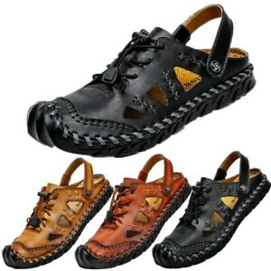 Men's Sandals Driving Closed Toe Beach Casual Shoes Loafers Moccasins Pumps