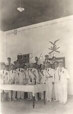 WWII Italian Army Large Photo- Regia Esercito- White Uniform- Medals- Artillery
