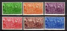 A7501)TURKEY 1938 Scott# 799/804 MNH** Turkish Alfabet