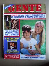 GENTE n°22 1982 Barbara Bouchet - Servizio su PLATINI e la JUVENTUS  [Q9]