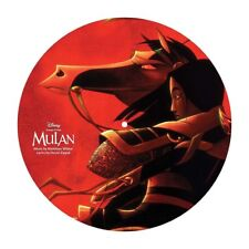 Mulan SONGS/MUSIC FROM THE MOVIE Disney NEW VINYL PICTURE DISC LP