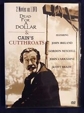 Dead For a Dollar - Cains Cutthroats (DVD, double feature) - E1007