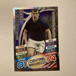 Topps Rugby Attax Card 2015 #119 Mark Bennett Scotland Star Player Foil Centre