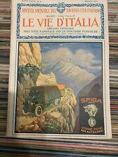 Le Vie d'Italia - marzo 1921 : Laghi serbatoi - Vulcia - Acquario di Napoli - ..