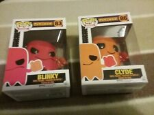 Pac-Man Blinky And Clyde Ghost Funko Pop Figures  NEW