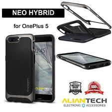 Original Spigen Neo Hybrid Case for OnePlus 5 Gunmetal K04CS21515