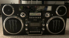 New Gpo Monster Energy Edition Advertisting Brooklyn Bluetooth Boombox 80's