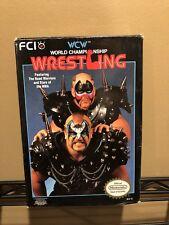 WCW World Championship Wrestling (Nintendo Entertainment System, 1990)