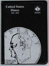 Uni-Safe United States US Dimes 10 Cents Coin Collection Album Folder 1946-2005
