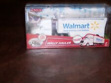 DISNEY - CARS -  WALMART EXCLUSIVE - WALLY - HAULER - RIG - SEMI - NEW