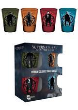 Supernatural set de 4 verres à liqueur Supernatural coloured shot glass lot