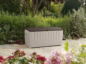 Novel Brown / Beige Outdoor Storage Box