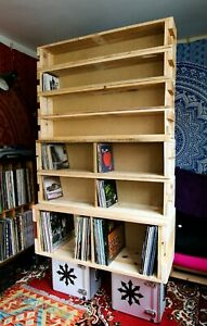 Vinyl Record Storage Units & Crates Manufacturing Business For Sale