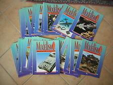 MODELLISMO PRATICO enciclopedia a fascicoli dal numero 28 al 39  prezzo cadauno