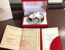 Genuine deve de Cartier Ladies Watch - 1992-Box & Papers-condizioni favolose