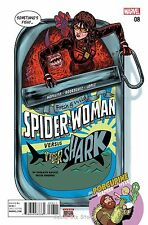 SPIDER-WOMAN #8 (2016) 1ST PRINTING BAGGED & BOARDED