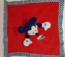 13 DOUDOU ROUGE PLAT MICKEY MY FIRST CHRISTMAS FLOCON DISNEY STORE NEUF