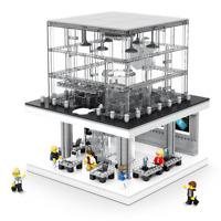 Sembo Blocksteine Store Beleuchtung USB Gebäude Figur Spielzeug Modell Kinder