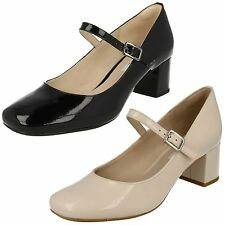 Clarks Patent Leather Court Shoes for Women