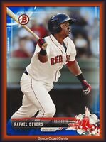 2017 Bowman Rafael Devers Blue Paper Prospects /150 Red Sox