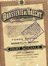 BRASSERIE de HAECHT (1924)