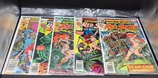 Great Lot Of Red Sonja Marvel Comic Books - Marvel Feature & Other Bronze Age