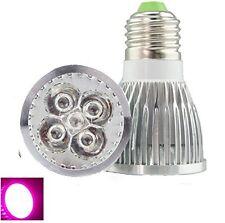 Full Spectrum 5x3W E27 Led Grow Light Bulb 400-840nm Mini LED Plant Grow Lamp