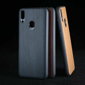 cover Case for Huawei Honor 8X 8A 8C Wood Pattern Vintage leather Skin hard case