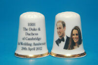 Su Alteza Real el Duque y Duchess Of Cambridge 1st Boda Aniversario 2012 Dedal B