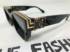 69cf83d768 Louis Vuitton 1.1 Millionaires Sunglasses X Virgil Abloh Black Z1165w Ss19
