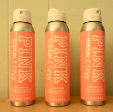 BRAND NEW LOT OF 3 VICTORIA'S SECRET PINK WARM & COZY HAIR AND BODY SPRAY