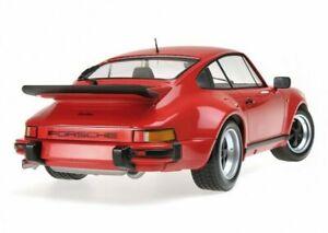 PORSCHE 911 930  TURBO - 1977 - red - Minichamps 1:12 - 125066100