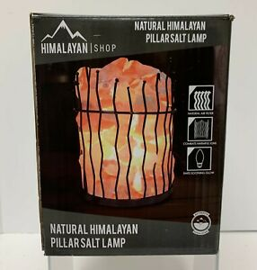 Himalayan Shop Natural Himalayan Pillar Salt Lamp