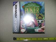 World Championship Poker for GBA (Nintendo Game Boy Advance, 2004) (NEW, sealed)