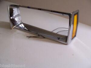 1983 1982 REGAL LEFT MARKER SIGNAL LIGHT & HEADLIGHT TRIM BEZEL USED OEM BUICK