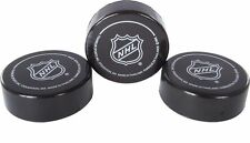 Franklin Sports NHL Soft Sponge Foam Mini Knee Hockey Pucks 3 Pieces Durable New