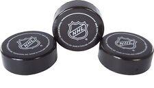 Franklin Sports NHL Soft Sponge Foam Mini Knee Hockey Pucks 3 Pieces Durable New