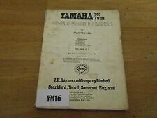 YAMAHA RD200 HAYNES MANUAL