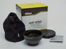 Nikon WC-E80 Lens Wideangle Converter New In Box