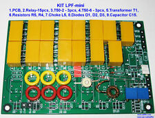 LPF KIT 200W HF power amplifier 2SC2879 FT-817 Elekraft 2SC2290 RD16HHF1