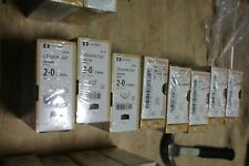 Covidien Chromic Gut Ug 245 2 0 30 Absorbable Suture V 20 Taper Lot Of 8 Boxes