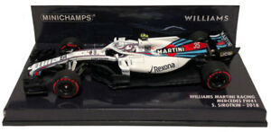 Minichamps Williams FW41 #35 2018 Race Version - Sergey Sirotkin 1/43 Scale